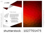 dark red vector  layout for...
