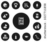 set of 13 editable teach icons. ...