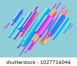 3d render  digital illustration ... | Shutterstock . vector #1027716046