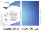light blue vector  brochure for ...