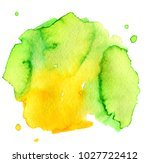 colorful abstract watercolor... | Shutterstock .eps vector #1027722412