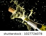 close up image of champagne... | Shutterstock . vector #1027726078