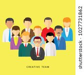 vector illustration of creative ...   Shutterstock .eps vector #1027731862