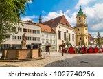 bratislava  slovakia   july 27  ...   Shutterstock . vector #1027740256