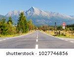 view of high tatras mountains...   Shutterstock . vector #1027746856