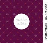 repeating seamless lattice... | Shutterstock .eps vector #1027752055
