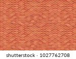 brown brick wall background  ... | Shutterstock .eps vector #1027762708