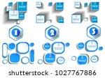 vector infographics design... | Shutterstock .eps vector #1027767886