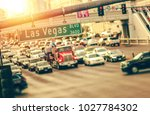 las vegas strip traffic.... | Shutterstock . vector #1027784302