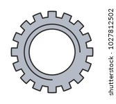 gear wheel cog technology... | Shutterstock .eps vector #1027812502