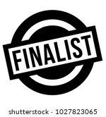 finalist stamp. typographic... | Shutterstock .eps vector #1027823065