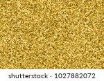 gold glitter texture. amber... | Shutterstock .eps vector #1027882072