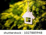 the symbol of the house is... | Shutterstock . vector #1027885948