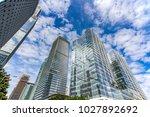 shenzhen futian building   Shutterstock . vector #1027892692