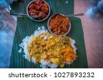 famous indian food called nasi... | Shutterstock . vector #1027893232