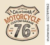 vintage style vector design for ... | Shutterstock .eps vector #1027899862