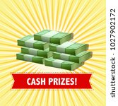 poster design with cash prizes... | Shutterstock .eps vector #1027902172