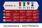 russia football tournament... | Shutterstock .eps vector #1027902652