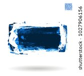 blue brush stroke and texture.... | Shutterstock .eps vector #1027906156