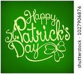 handdraw lettering for greeting ... | Shutterstock .eps vector #1027906876