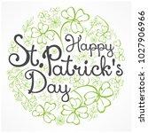 handdraw lettering for greeting ... | Shutterstock .eps vector #1027906966