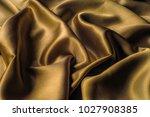 fabric made of silk fabric...   Shutterstock . vector #1027908385