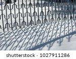 winter landscape. textural... | Shutterstock . vector #1027911286