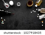alocohol abuse and alcoholism... | Shutterstock . vector #1027918435