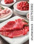 korean style grilled beef   Shutterstock . vector #1027923082