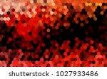 dark red vector low poly... | Shutterstock .eps vector #1027933486