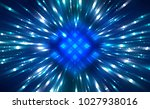 abstract azure background burst ... | Shutterstock . vector #1027938016