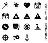 solid vector icon set   magic... | Shutterstock .eps vector #1027948156