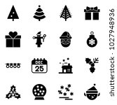 solid vector icon set  ... | Shutterstock .eps vector #1027948936