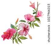 illustration of beautiful... | Shutterstock . vector #1027966315