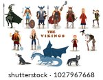 The Vikings. Viking Cartoon...