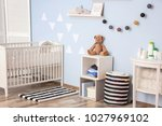 interior of beautiful children... | Shutterstock . vector #1027969102