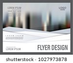 brochure layout design template.... | Shutterstock .eps vector #1027973878