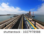 liquefied natural gas lng... | Shutterstock . vector #1027978588