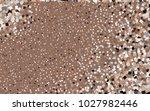 dark brown vector polygonal... | Shutterstock .eps vector #1027982446