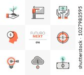 modern flat icons set of smart... | Shutterstock .eps vector #1027983595