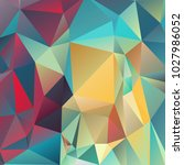 abstract polygonal mosaic... | Shutterstock .eps vector #1027986052