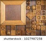 element of decorative...   Shutterstock . vector #1027987258
