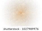 dark orange vector pattern with ... | Shutterstock .eps vector #1027989976