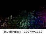 dark multicolor  rainbow vector ... | Shutterstock .eps vector #1027991182