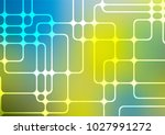 light blue  yellow vector... | Shutterstock .eps vector #1027991272