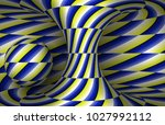 moving spiral hyperboloid and... | Shutterstock .eps vector #1027992112