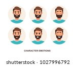 cartoon characters avatars... | Shutterstock .eps vector #1027996792