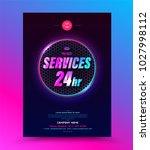 cover template for emergency... | Shutterstock .eps vector #1027998112
