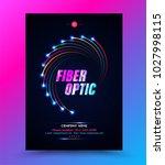 cover template for network... | Shutterstock .eps vector #1027998115