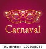 beautiful carnaval illustration ... | Shutterstock .eps vector #1028008756